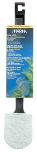 Algae scraper for acrylic aquariums.