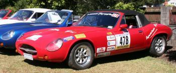 Cheetah Racing Car
