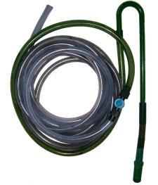 Aquarium syphon hose.