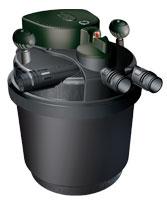 External Laguna pressurized canister filter.