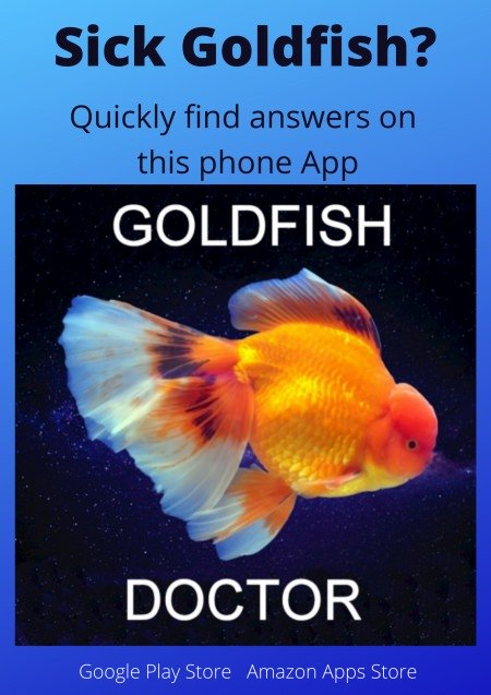 Goldfish Doctor mobile phone App on Google Play and Amazon Appstore